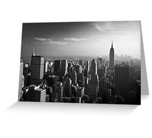 Manhattan Skyline with Empire State Building (Alan Copson ©) Greeting Card