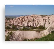 Rock Formations Of Capadoccia Canvas Print