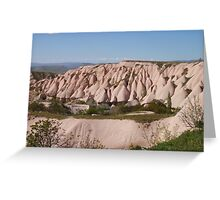 Rock Formations Of Capadoccia Greeting Card
