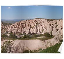 Rock Formations Of Capadoccia Poster