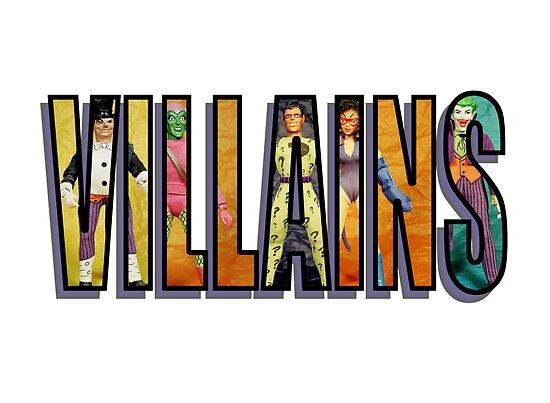 Villains by mrkane