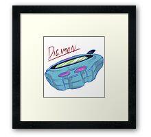Digimon: Digivice, Retro Piece Framed Print