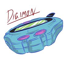 Digimon: Digivice, Retro Piece Photographic Print