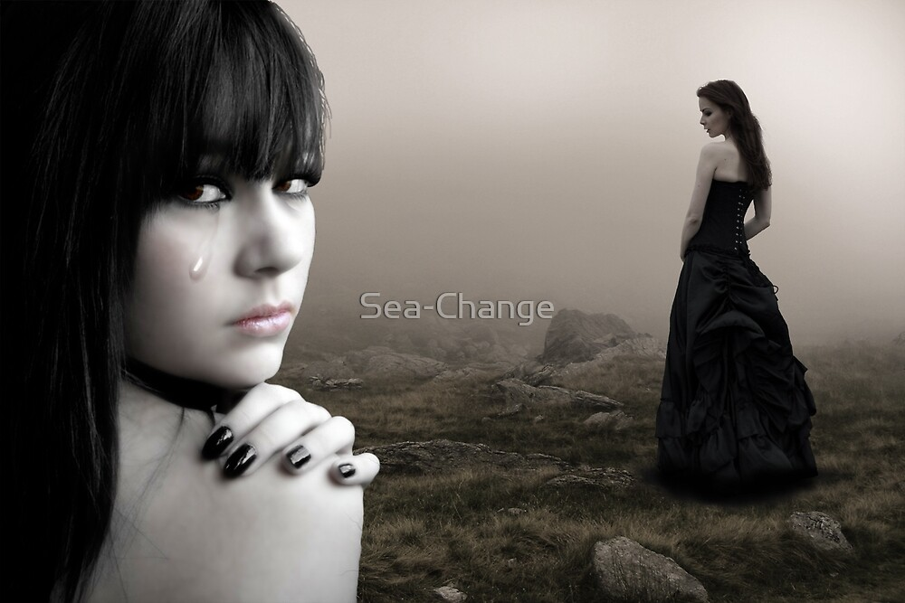 Last night I cried...(Image and Verse) by Sea-Change