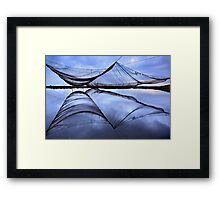 Daliani at the Delta of Aliakmonas river Framed Print