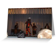 East African rhythms... Ohio Orbs Greeting Card
