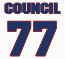 National football player Council Rudolph jersey 77 by imsport