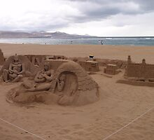 Sand Sculpture by Malcolm Snook