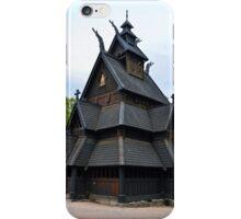 Norwegian Medieval Stave Church iPhone Case/Skin