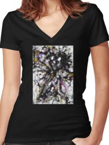 cool sketch 54 Women's Fitted V-Neck T-Shirt