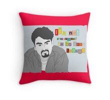 Clerks; Dante Throw Pillow