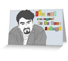Clerks; Dante Greeting Card