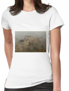The Great Wall Of China At Badaling - 2 © Womens Fitted T-Shirt