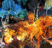 Fire in the Woods by SUCHDESIGN