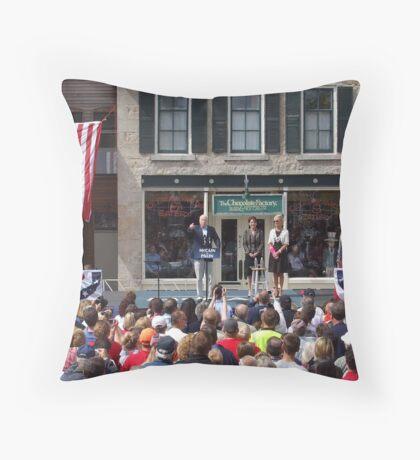 McCain Palin 2008  Throw Pillow