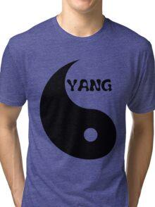 Classic Yang matches with Classic Yin Tri-blend T-Shirt