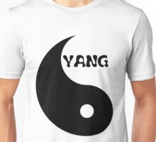 Classic Yang matches with Classic Yin Unisex T-Shirt