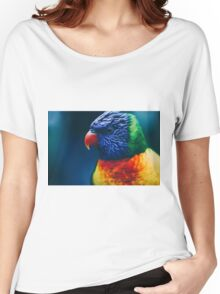 Rainbow Lorikeet Women's Relaxed Fit T-Shirt