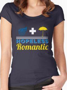 Hopeless Romantic Women's Fitted Scoop T-Shirt