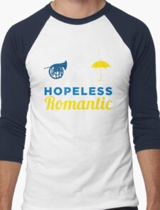 Hopeless Romantic Men's Baseball ¾ T-Shirt