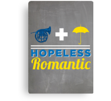 Hopeless Romantic Canvas Print