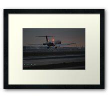 Light Moves Framed Print
