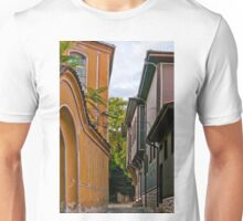 Traditional Houses in Old Plovdiv, Bulgaria Unisex T-Shirt
