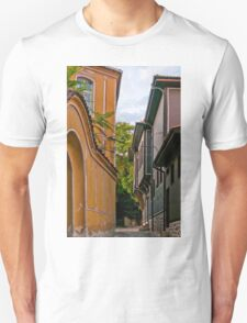 Traditional Houses in Old Plovdiv, Bulgaria T-Shirt