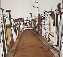 Back lane in Redfern by Emily Van Loon