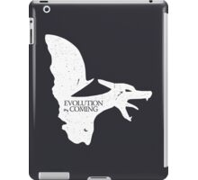 Evolution is Coming - Charizard (White) iPad Case/Skin