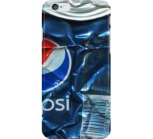 Pepsi Cola - Crushed Tin iPhone Case/Skin