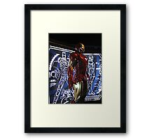 Iron Man at Madame Tussauds in NYC Framed Print
