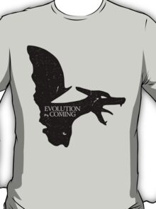 Evolution is Coming - Charizard (Black) T-Shirt