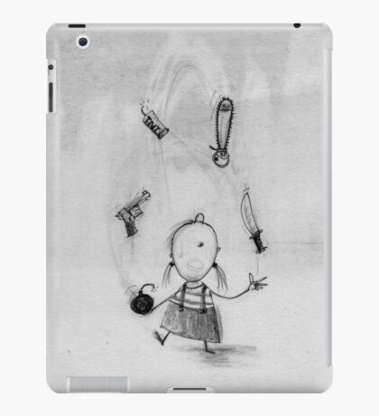 Dangerous juggling iPad Case/Skin