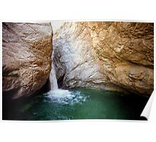 Mt. Baldy Gorge Water Fall Poster