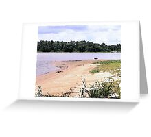 The Sand Bar Greeting Card