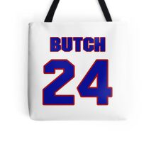 National football player Butch Byrd jersey 24 Tote Bag
