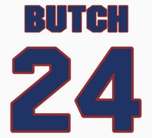National football player Butch Byrd jersey 24 by imsport