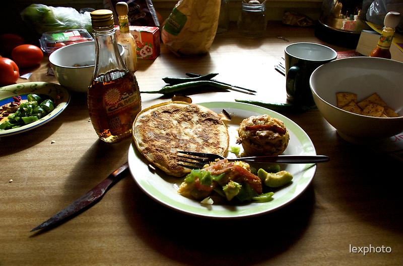 Bacon Breakfast by lexphoto