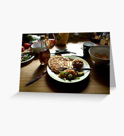 Bacon Breakfast Greeting Card