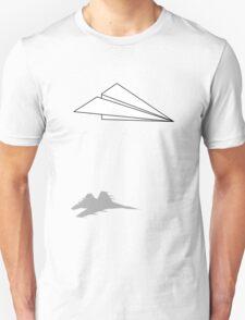 Paper Airplane Dreams Unisex T-Shirt
