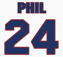 National football player Phil King jersey 24 by imsport
