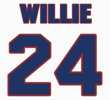 National football player Willie Wood jersey 24 by imsport