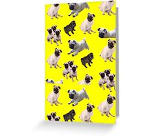 Pug life  Greeting Card