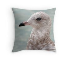 BIRD'A EYE VIEW Throw Pillow