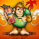 Monkey by Leonardo Chan