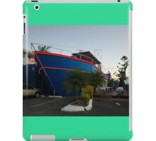 Ship Out Of Water, Queensland, Australia 2008 iPad Case/Skin
