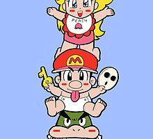 Yoshi's Island: Super Mario World 2 by Studio Momo╰༼ ಠ益ಠ ༽
