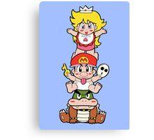 Yoshi's Island: Super Mario World 2 Canvas Print