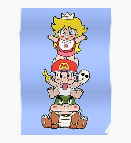 Yoshi's Island: Super Mario World 2 Poster